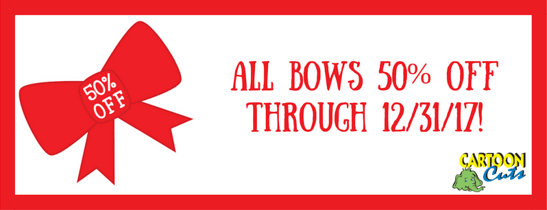 Bows 50% Off & More