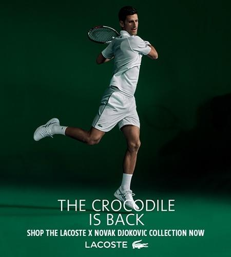 LACOSTE X NOVAK DJOKOVIC Collection from Lacoste