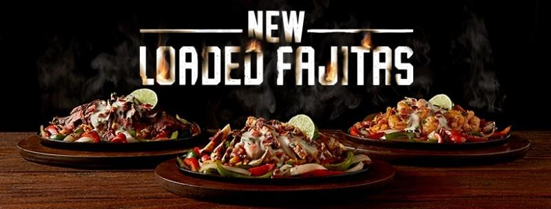 New Loaded Fajitas from Applebee's