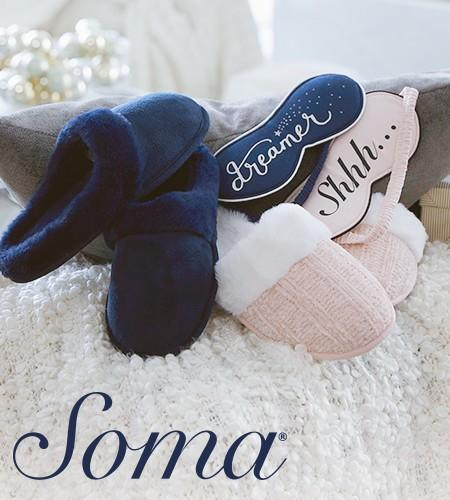 $15 Slippers from Soma Intimates
