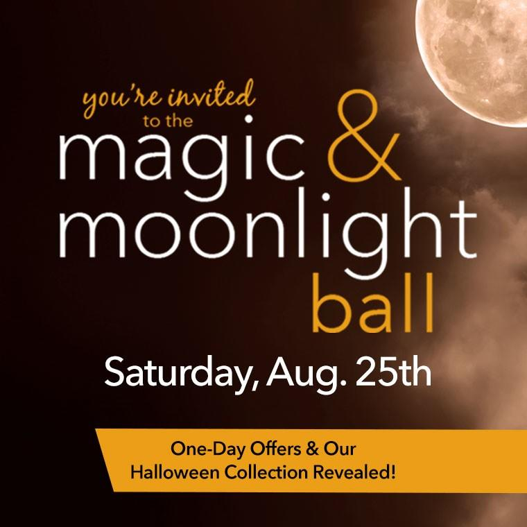 Save the Date! Magic & Moonlight Ball from Yankee Candle