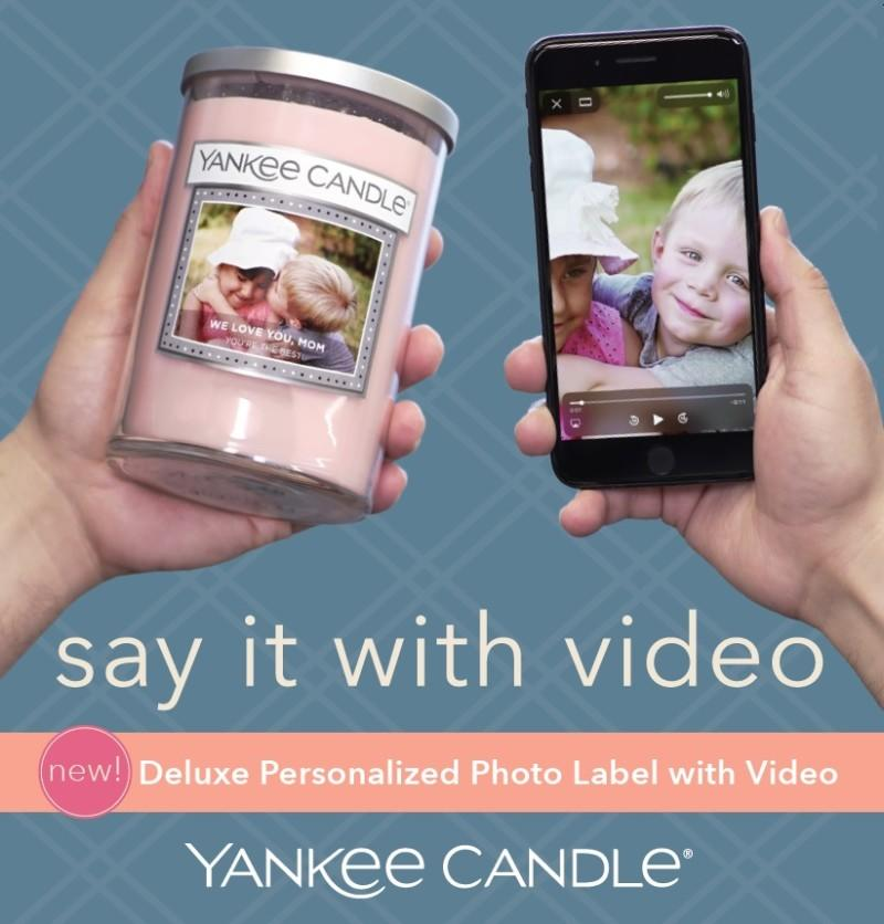 NEW! Deluxe Personalized Photo Label with Video