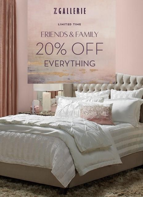 Friends & Family - Limited Time from Z Gallerie