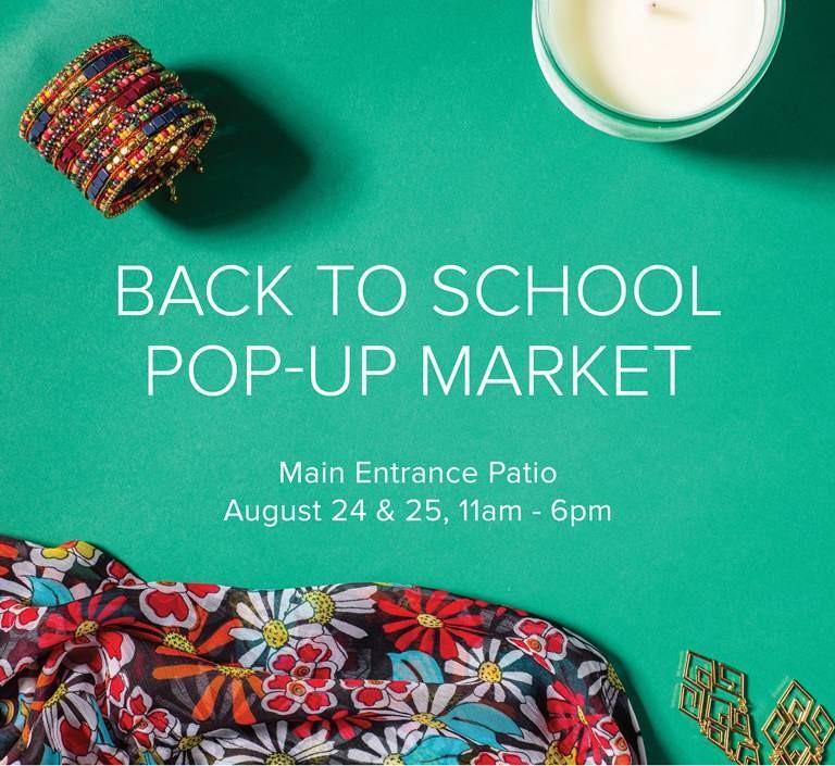Back to School Pop-Up Market Details