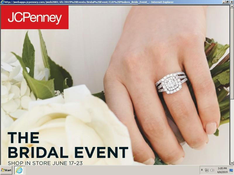 Bridal Event from JCPenney