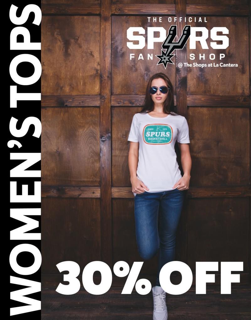 30% Off Women's Tops