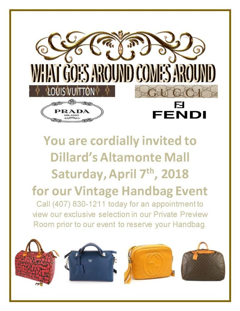 Vintage Handbag Event from Dillard's