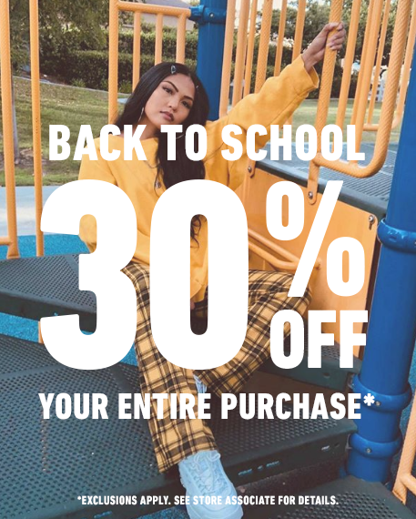 TALK ABOUT BACK TO SCHOOL SAVINGS! from Forever 21