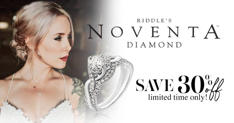 30% Off Noventa Diamond from Riddle's Jewelry
