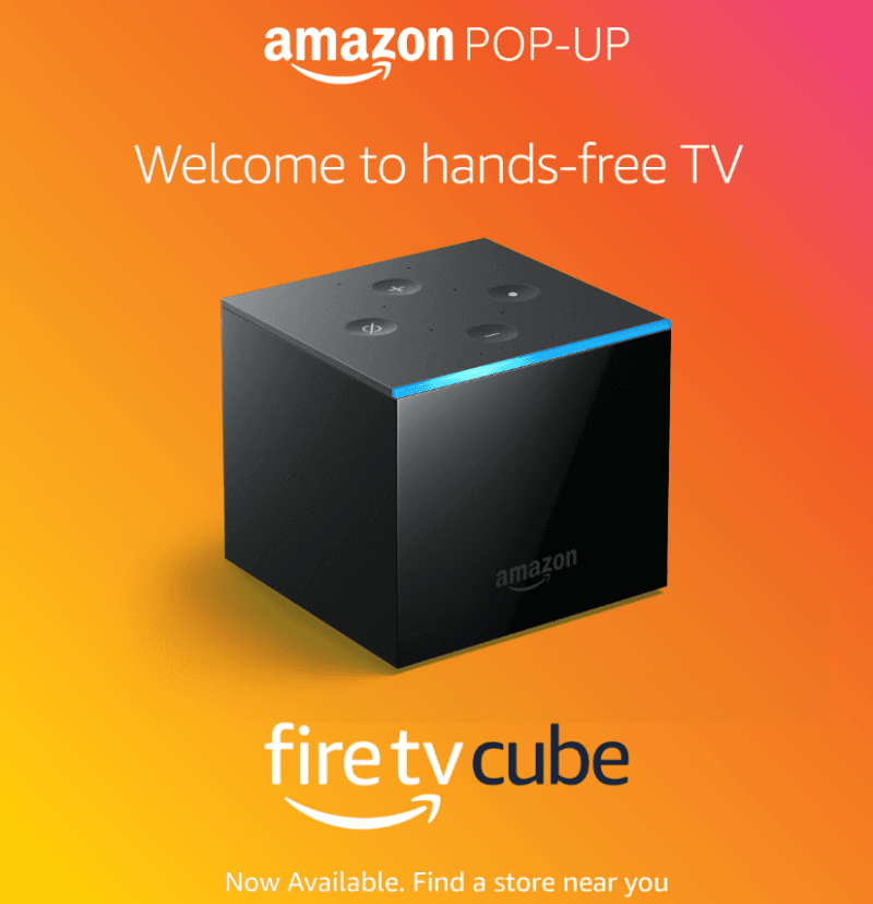 Fire TV Cube, now available