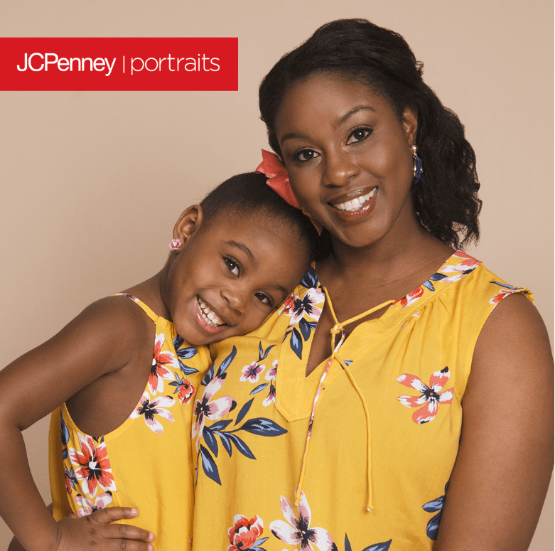 Celebrate Mother's Day with the little version of you from JCPenney Portraits