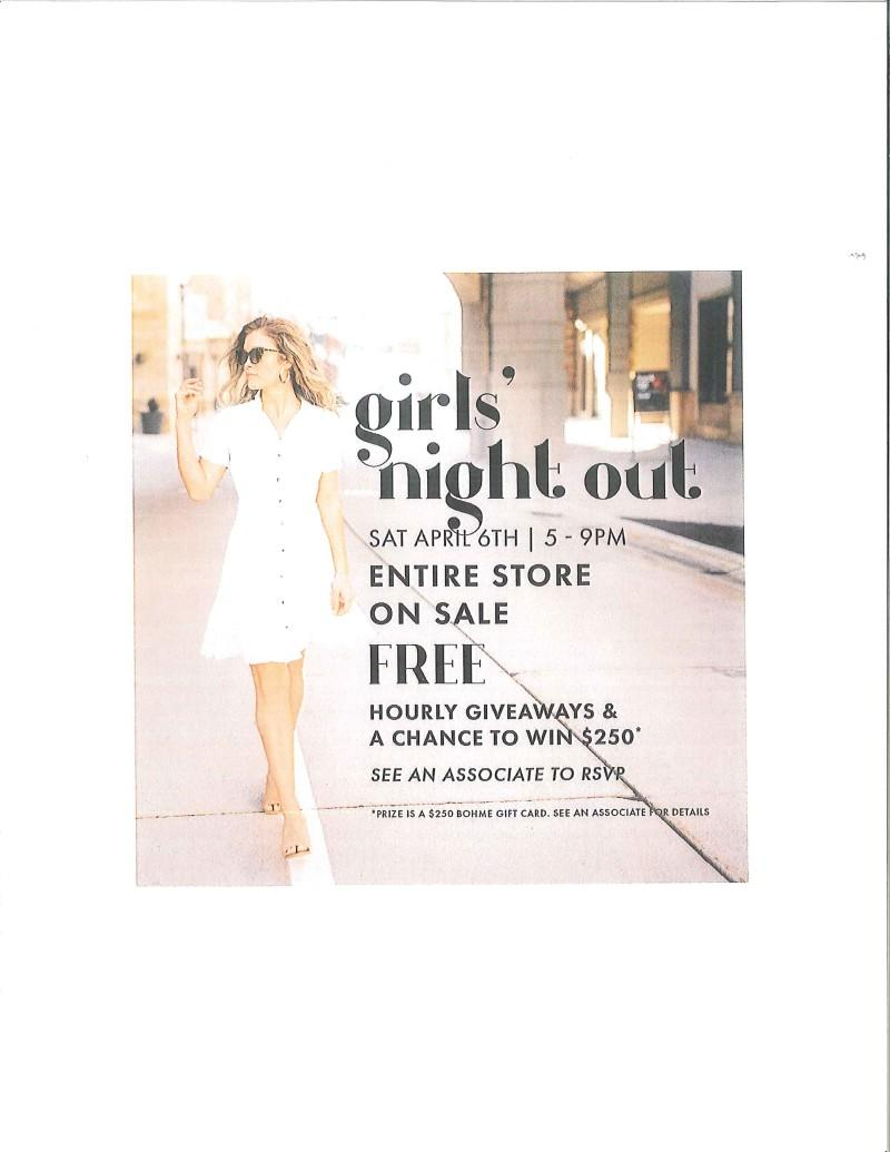 Girls Night Out! from Bohme Boutique