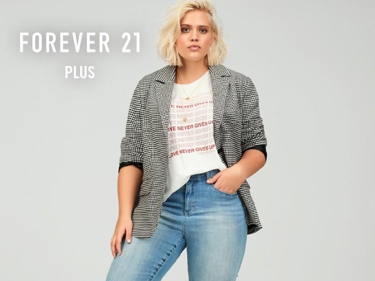 See What's New in our Plus Collection from Forever 21