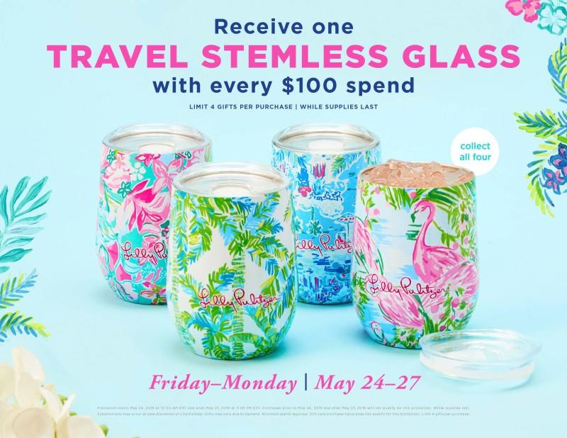 Memorial Weekend Promotion from Lilly Pulitzer