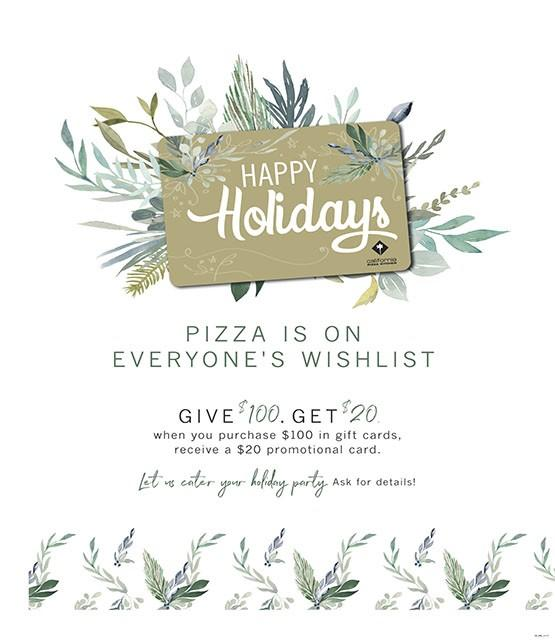 Holiday Gift Card Promotion