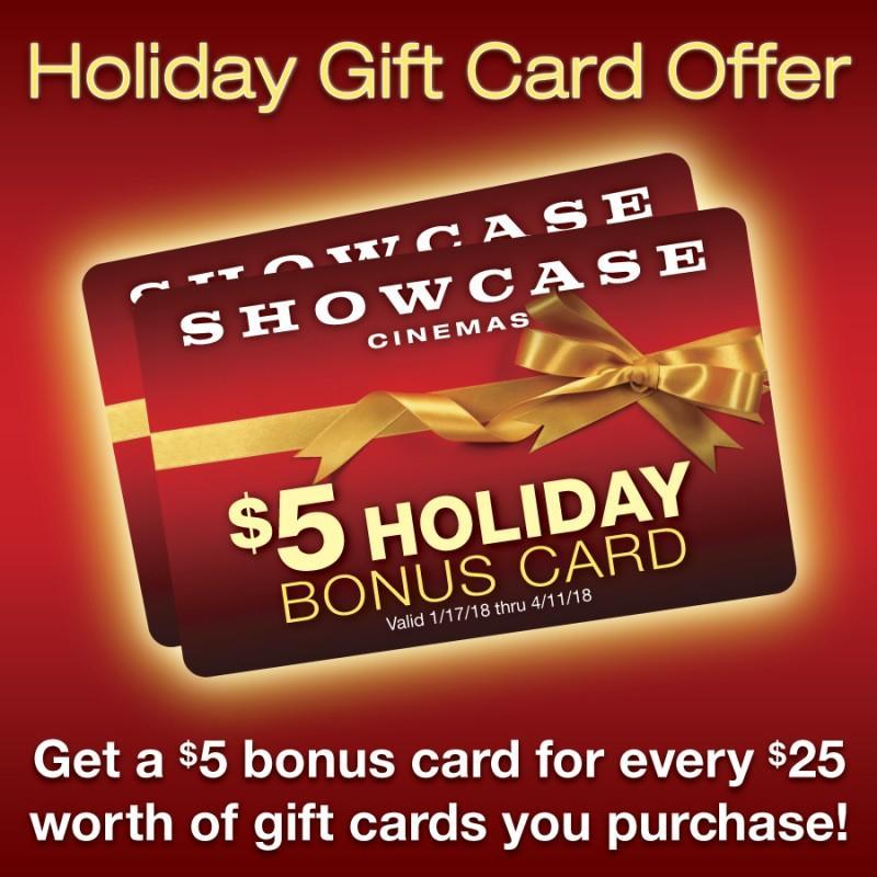 Showcase Gift Cards