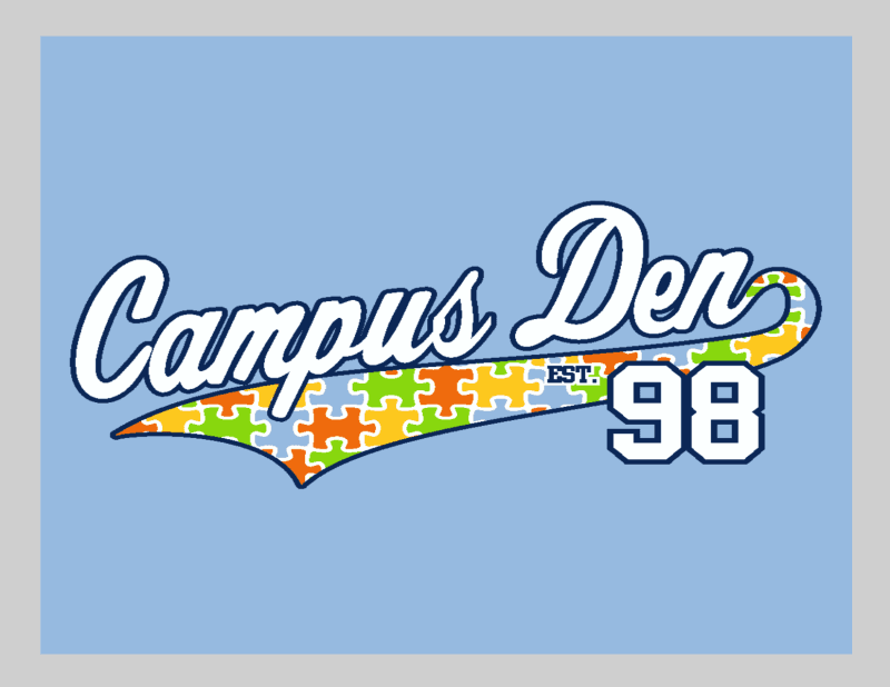 Campus Den has partnered with Autism Speaks of Michigan from Campus Den