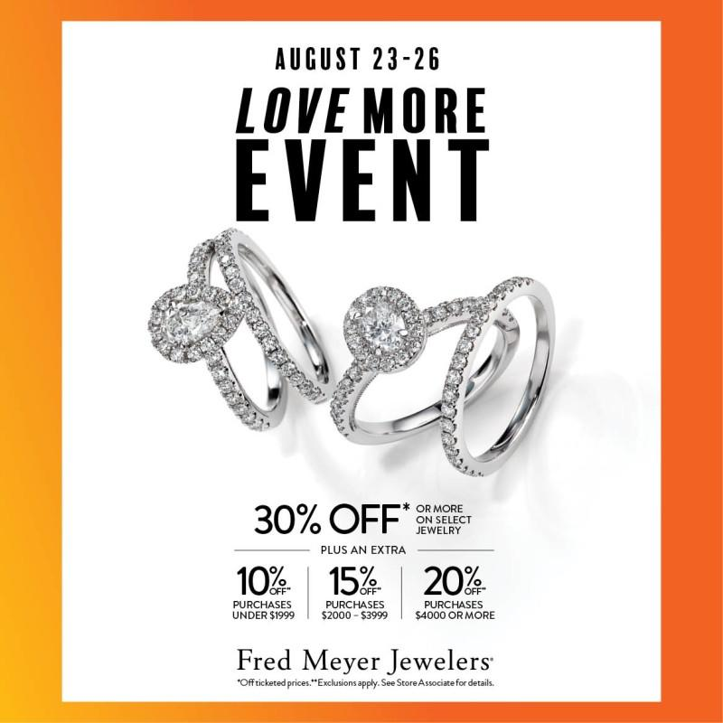 30% Off or More from Fred Meyer Jewelers