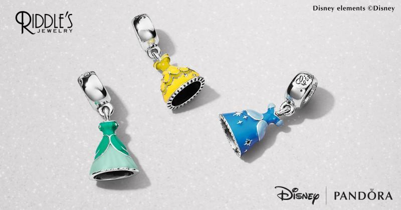 Disney Charms from Pandora from Riddle's Jewelry