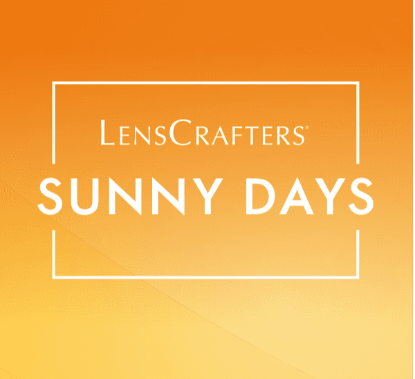 Sunny Days at LensCrafters! from LensCrafters