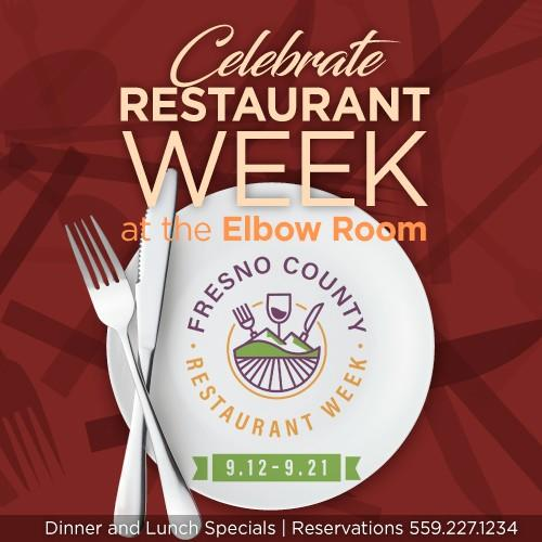 Celebrate Restaurant Week, Dinner & Lunch Specials! from Elbow Room