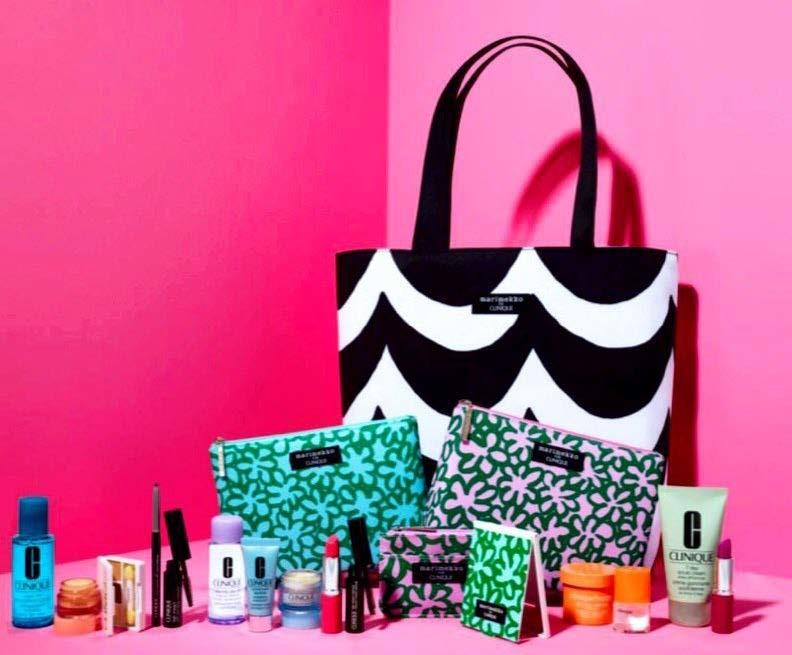 Gift with purchase at Clinique from Younkers