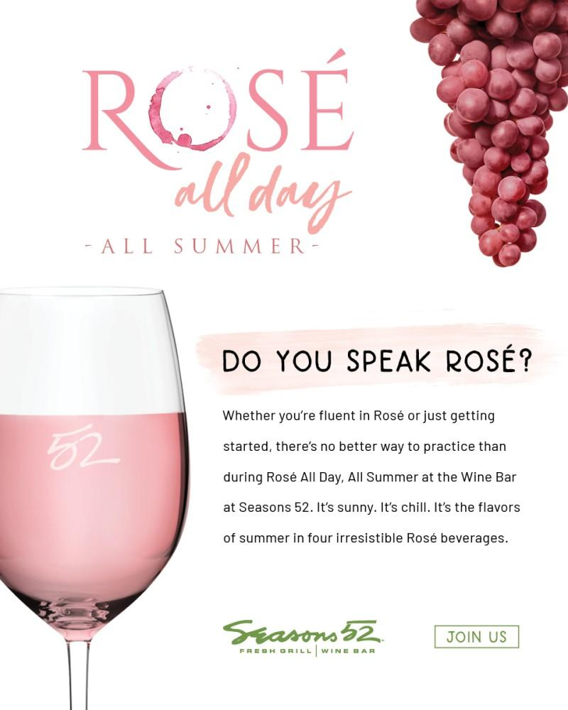 Rosé All Day from Seasons 52