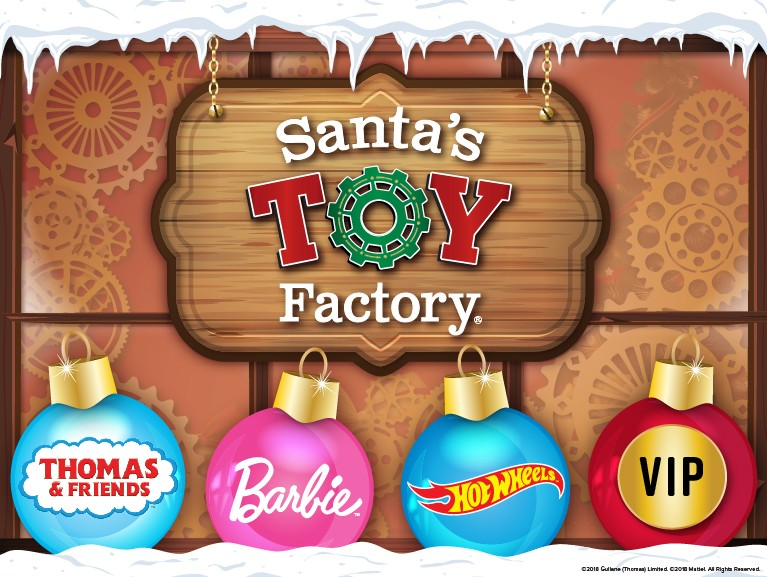 Santa's Toy Factory with Mattel